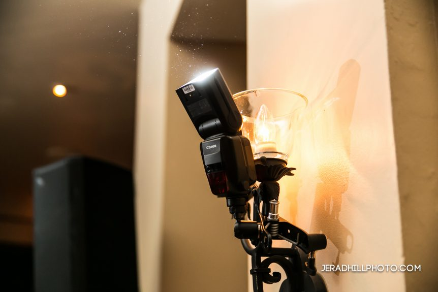 Canon 600EX-RT Wireless Flash Wedding Reception Lighting