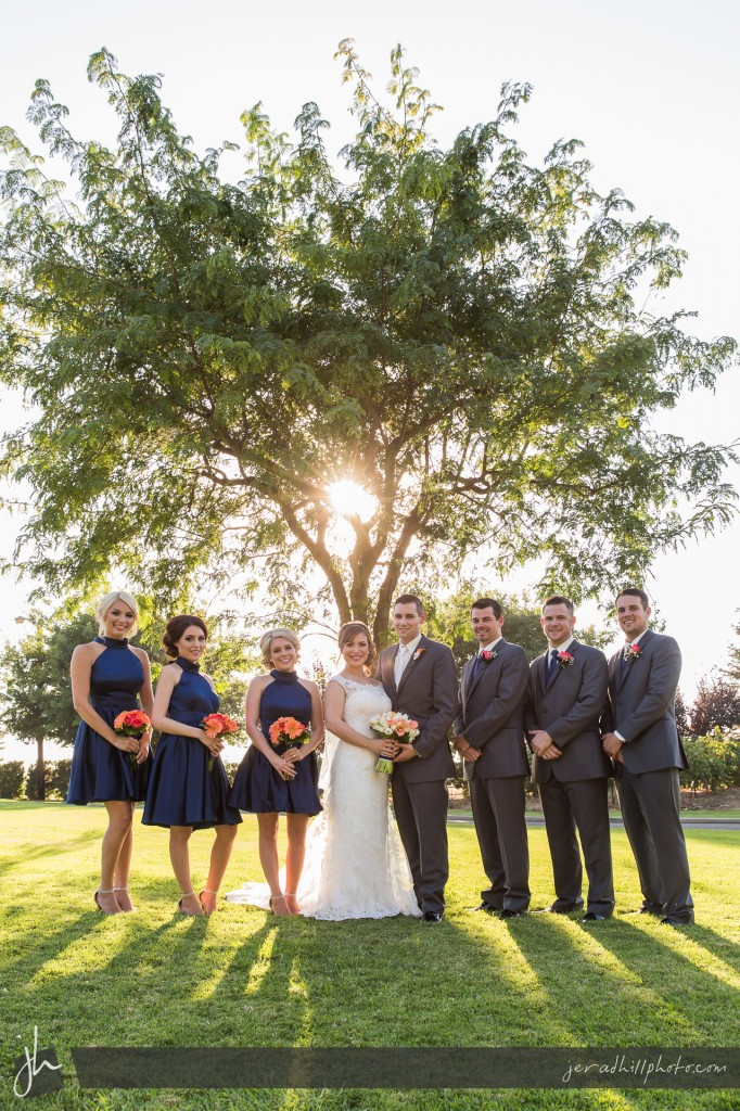 Natural Sunburst Wedding Portrait Photography