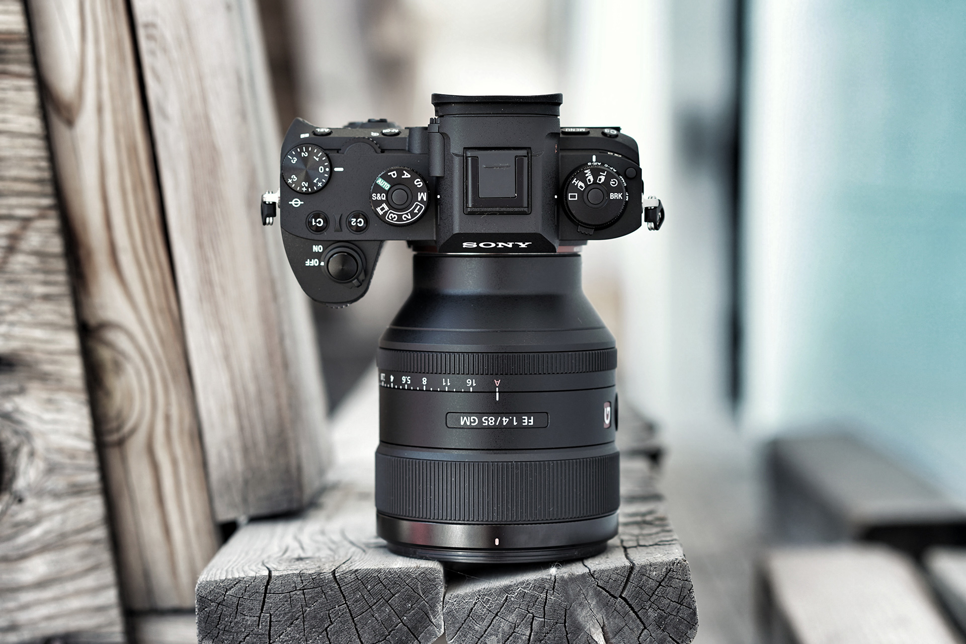 Product Photography Sony Camera Lens