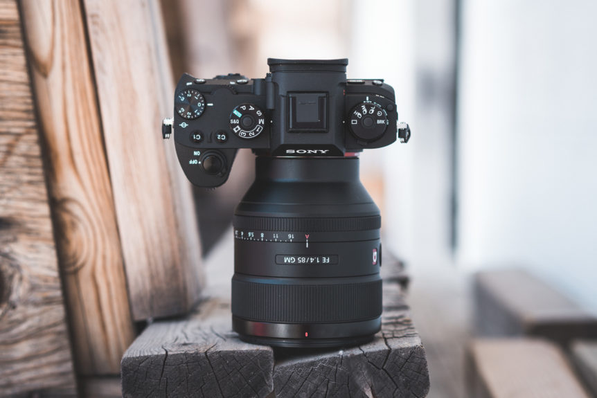 Sony a9 Camera + Sony FE 85mm f/1.4 GM Lens
