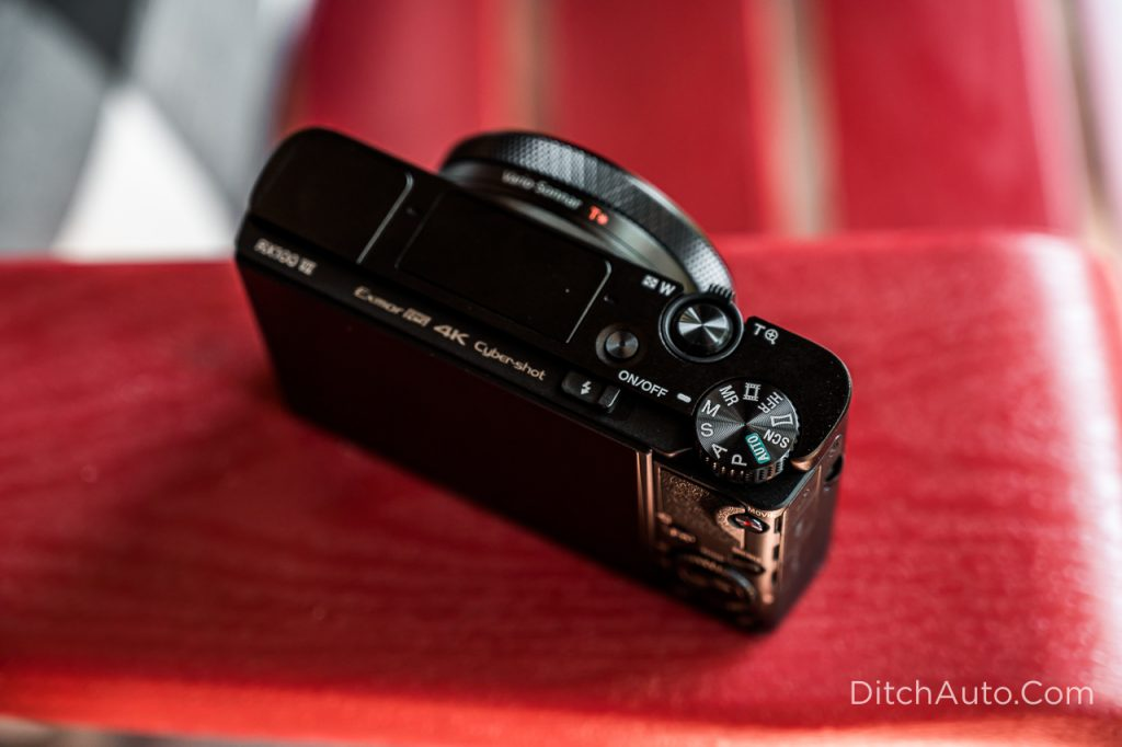 Sony RX100 VII - Turn the mode dial to M for Manual Mode