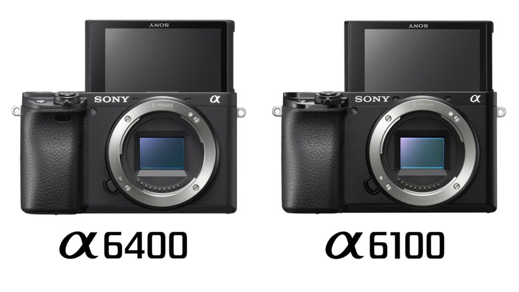 Sony a6100 vs a6400 Comparison Body Selfie